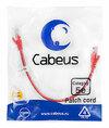 Cabeus PC-UTP-RJ45-Cat.5e-0.3m-RD