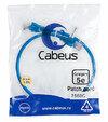 Cabeus PC-UTP-RJ45-Cat.5e-0.5m-BL