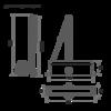 Нора-М Нора-М №3S бол (серебро)