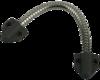 Гибкий переход Гибкий переход 6 мм (KL-468T) чёрное крепление