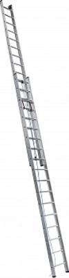 АЛЮМЕТ (ALUMET) Лестница выдвижная двухсекционная АЛЮМЕТ 3215 2х15 с тросом