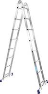 АЛЮМЕТ (ALUMET) Лестница-трансформер АЛЮМЕТ Т-205 2х5