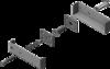 Aler Комплект смещения якоря 150PR (белый)