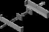 Aler Комплект смещения якоря 200PR (коричневый)