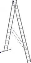 АЛЮМЕТ (ALUMET) Лестница-стремянка двухсекционная АЛЮМЕТ 6218 2х18