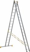 АЛЮМЕТ (ALUMET) Лестница-стремянка двухсекционная АЛЮМЕТ 9216 2х16