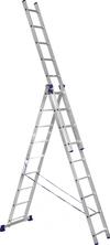 АЛЮМЕТ (ALUMET) Лестница-стремянка трехсекционная АЛЮМЕТ 5309 3х 9