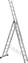 АЛЮМЕТ (ALUMET) Лестница-стремянка трехсекционная АЛЮМЕТ 5310 3х10