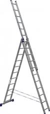 АЛЮМЕТ (ALUMET) Лестница-стремянка трехсекционная АЛЮМЕТ 5311 3х11