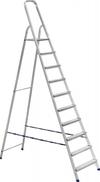 АЛЮМЕТ (ALUMET) Стремянка алюминиевая АЛЮМЕТ АМ710 10 ступеней