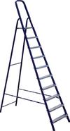 АЛЮМЕТ (ALUMET) Стремянка стальная АЛЮМЕТ М8409 9 ступеней профиль 40х20