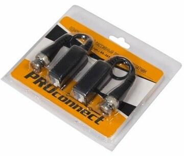 PROconnect Приемопередатчик пассивный AHD, CVI, TVI  (комплект 2 шт), цена за 1 шт. PROconnect (05-3077-4)