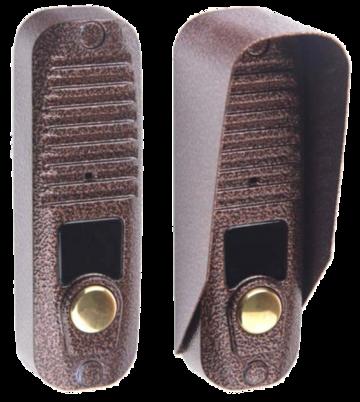 Вызывная видеопанель JSB-V055L БК (коричневый)