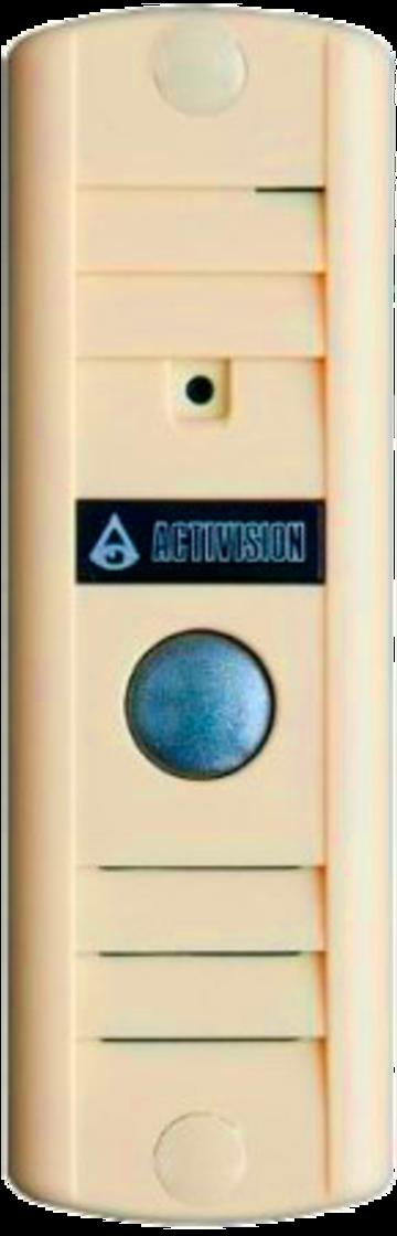 Вызывная видеопанель AVP-506 (PAL) бежевый
