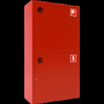 Шкаф для пожарного крана ШПК-320-12 НЗК (Ш-ПК-О-003Н-12) глубина 350 мм