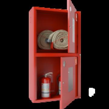 Шкаф для пожарного крана ШПК-320-12 НОК (Ш-ПК-О-003Н-12) глубина 350 мм