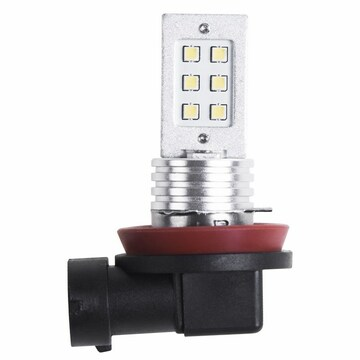 Noname Светодиодная лампочка H11, 12 Вт (12 светодиодов) (80-1371-9) кратно 2 шт