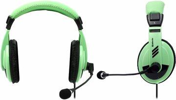 Наушники с микрофоном Gryphon HN-750 Green