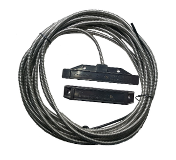 Магнито-Контакт ДПМ-1Ех исп.05 переключающий, 30м*×ПВС 3×0.75 (металлорукав РЗН - материал нержавеющая сталь)