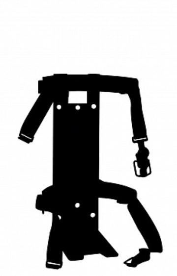 Кронштейн транспортный для огнетушителя КТР-4/5 МИГ (для ОП-4, ОВП-4, ОП-5, ОУ-3)