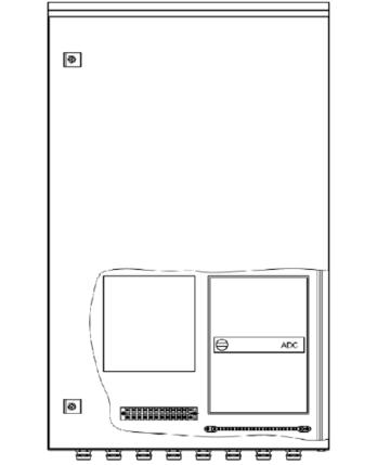Шкаф монтажный ШПУ-2Т