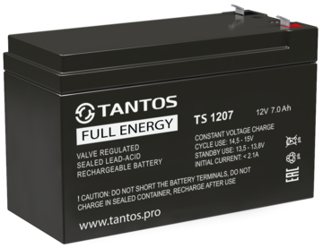 Аккумуляторная батарея Аккумулятор 12В 7 А∙ч (TS 1207)