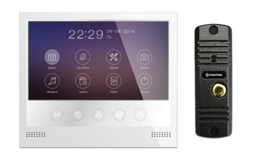 Комплект видеодомофона Selina HD M и Corban HD (комплект бюджетного домофона 7
