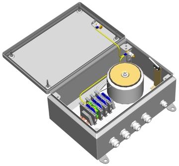 Источник питания БПУ-3-220VAC-24(27)VAC/10А