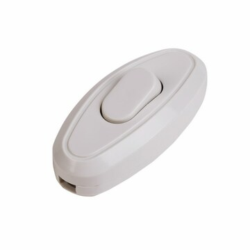 PROconnect Переключатель для бра белый 6А PROCONNECT (11-8536)