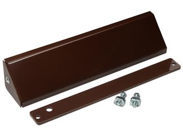 Комплект для монтажа замка MK AL-300PR (коричневый)