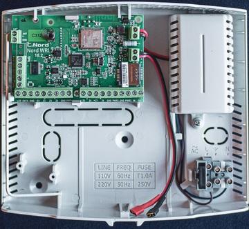 Прибор приёмно-контрольный Nord WRL C312