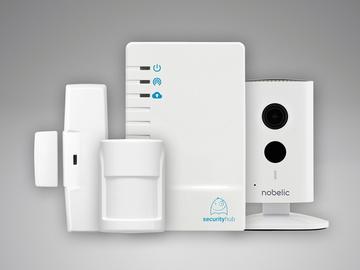 Комплект охранной сигнализации Security Hub (комплект с видеокамерой)
