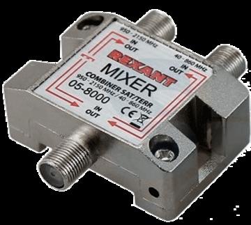 Rexant Диплексор (сумматор-делитель) SAT+TV в усиленном корпусе, REXANT (05-8000)