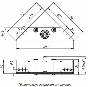 Promix SM101.00 серебро (Шериф-1 лайт (НО-С))
