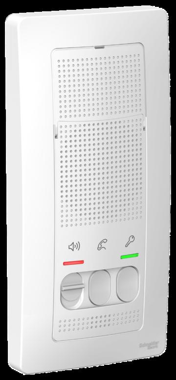 Аудиотрубка BLANCA переговорное устройство (домофон) 4,5в белый (BLNDA000011)