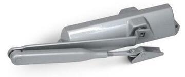 Доводчик дверной TS-68 с ФОП (серебро)