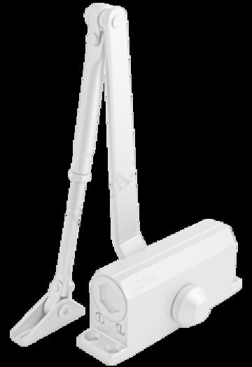 Доводчик дверной Нора-М №2S (белый)