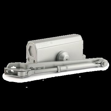 Доводчик дверной Нора-М №3S мал (серебро)