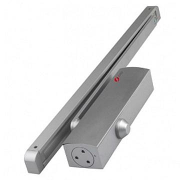 Доводчик дверной JDC-E65GB серебро