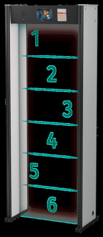 Арочный металлодетектор MasterDetect Z6