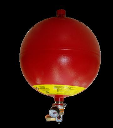 Модуль газового пожаротушения Вулкан-24 красный
