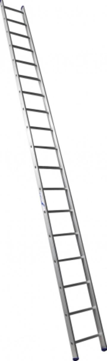 Лестница Лестница приставная АЛЮМЕТ 6118
