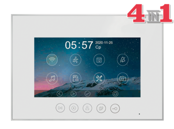 Монитор видеодомофона Marilyn HD s (white)