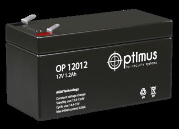 Optimus Аккумулятор 12В 1,2 А∙ч (OP 12012)