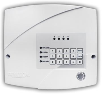 Прибор приёмно-контрольный Приток-А-КОП-03 (4) в комплекте с NFC считывателем, без модема GSM