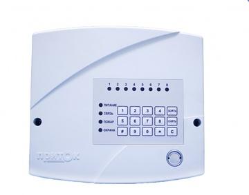 Прибор приёмно-контрольный Приток-А-КОП-03 (8) в комплекте с NFC считывателем, без модема GSM