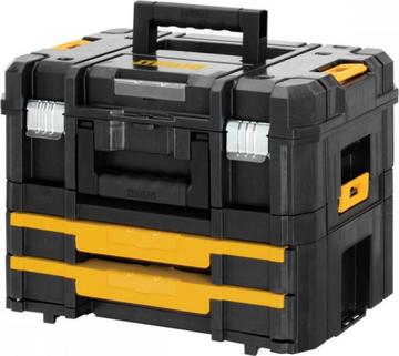 Ящик для инструмента Ящик для инструмента DeWALT T-BOX COMBO KIT II+IV (INCL ORGANIZATION) DWST1-70702