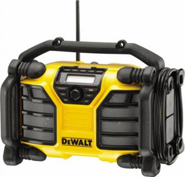 Радиоприёмник Радио DeWALT DCR 017 с встроенным ЗУ, без АКБ