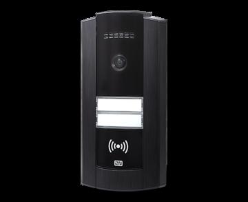 Вызывная видеопанель Домофон 2N IP Base с камерой, черная рамка (2N9156111CB)
