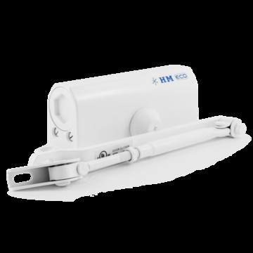 Доводчик дверной Нора-М 520 ЕСО (белый)